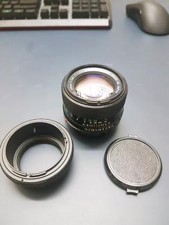 Canon FD SSC 50mm F1.4
