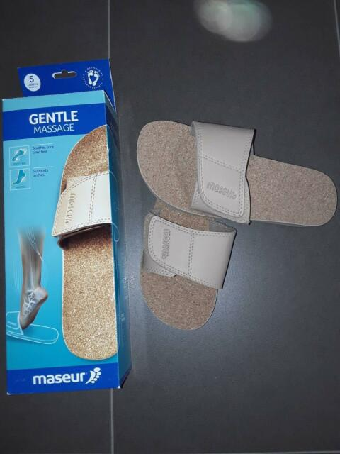 f7206c41a5c82 MASEUR GENTLE SANDALS FITS SIZE men 6-7 LADIES 7-8 ...