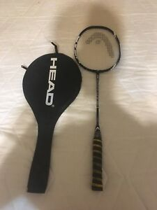 Head badminton racquet