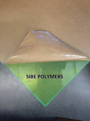 Green Fluorescent Acrylic Plexiglass Sheet 18 X 12 X 12 9093