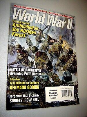 WORLD WAR II MAGAZINE JAN/FEB 2006 - GI MISSION TO CAPTURE HERMANN GORING