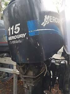MERCURY 100HP 115HP 125HP 4 CYLINDER OUTBOARD FOR WRECKING Brisbane City Brisbane North West Preview