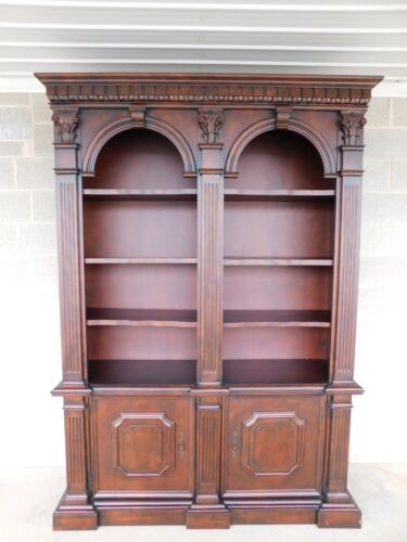 "Double Arched Open Bookcase 63""W x 89.5""H"