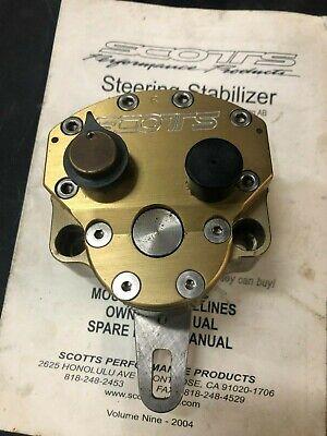 Scotts Steering Stabilizer Damper