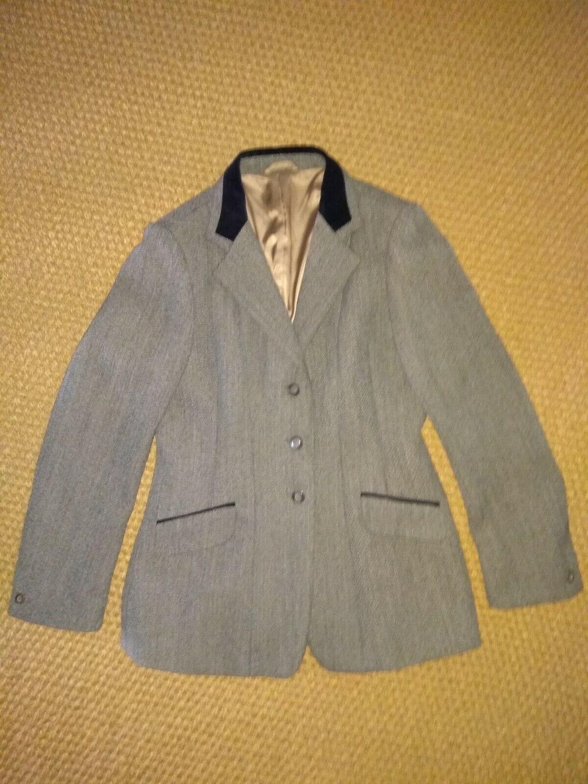 Veste d'équitation femme tweed taille 40