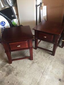 End Tables & Coffee Table