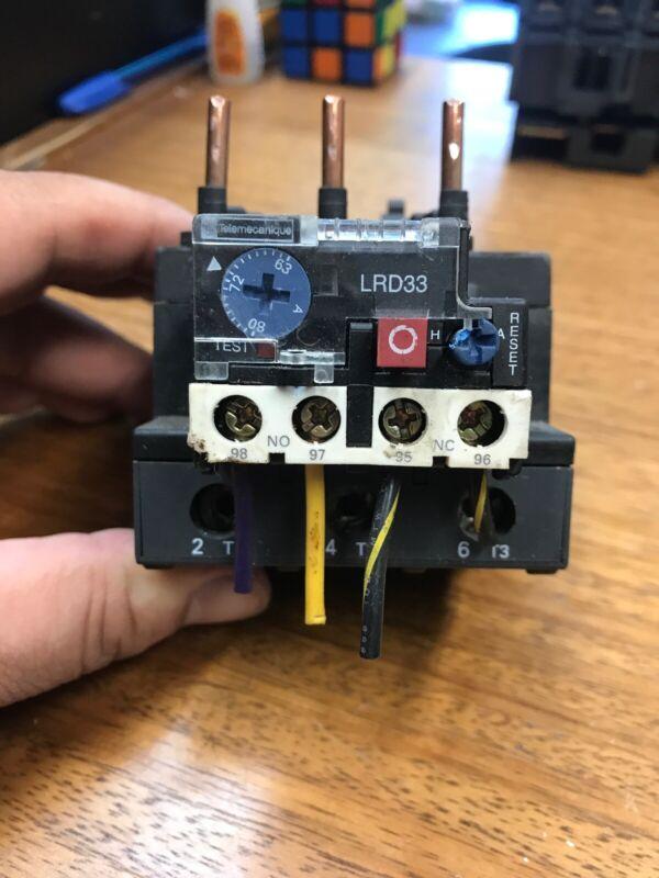***tested*** Schneider Electric Telemecanique LRD3363 LR2D3363 Overload Relay