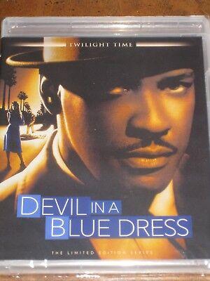 Devil In A Blue Dress  1995   Blu Ray  Twilight Time   Denzel Washington   New