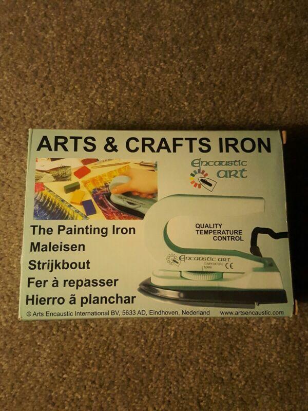 New Encaustic Arts & Crafts Iron  110v