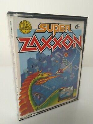 SUPER ZAXXON - Commodore 64 - C64 -  Cassette - Tested