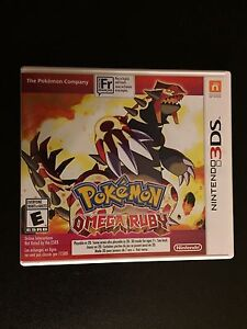 Pokémon Omega Ruby ( used only once )