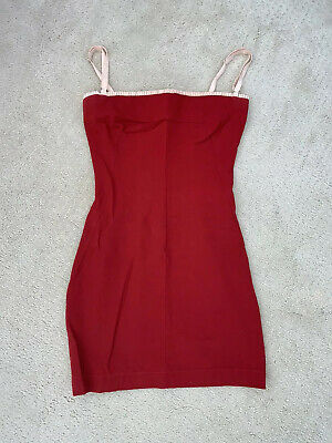 Dolce & Gabbana Red Mini Dress Size xs