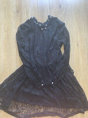 Womens black QED London dress size 10 for sale  Chertsey