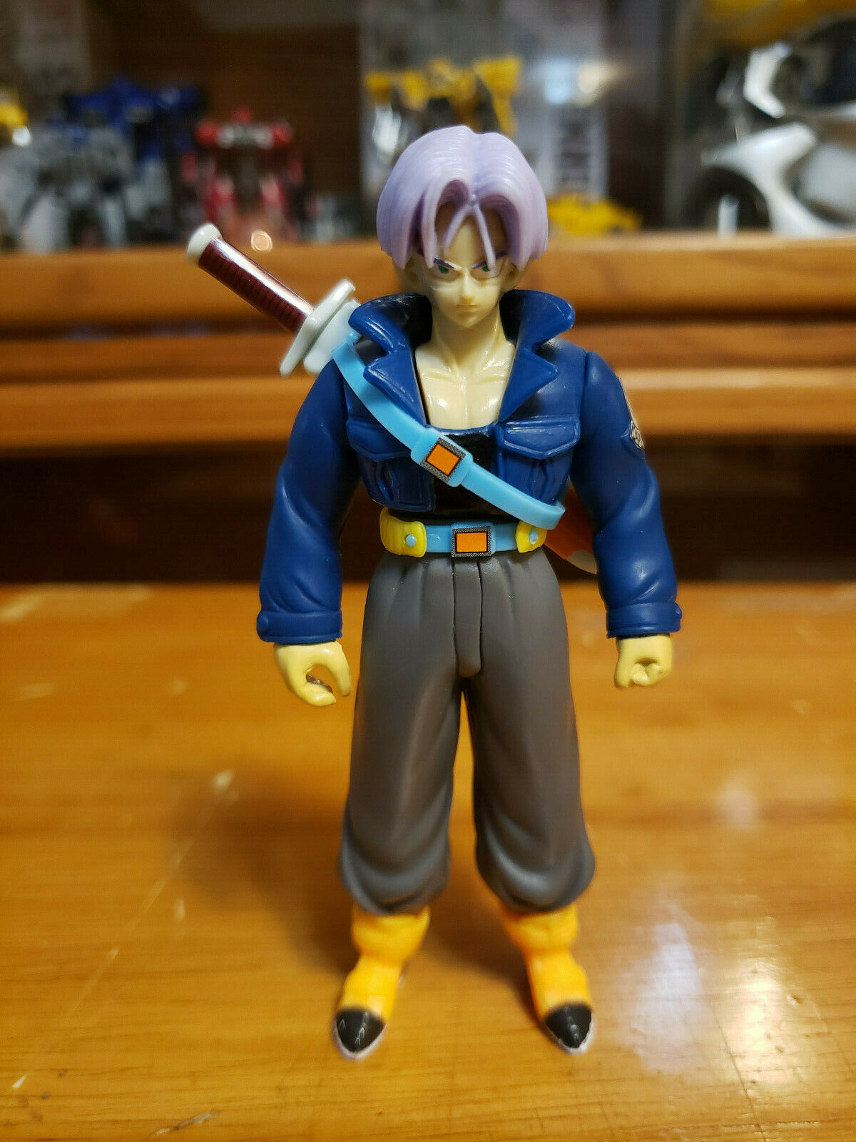 Character:Trunks Vol 5:BANDAI Dragonball Z  and Dragon Ball GT super battle collection AB Toys & Irwin