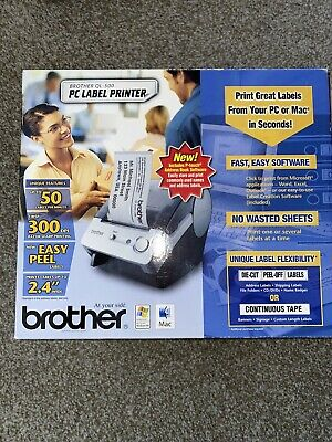 Brother Ql-500 Label Printeroverall Length 7-34