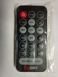 Original Gigaware Remote for Alarm Clock Radio model 40-220