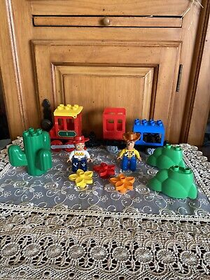 Lego Duplo Lot Disney Toy Story Woody~Jesse~Figures Replacement Parts Pieces Lot