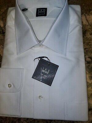 Nwt $150.00 Ike Behar Dress Shirt 18 36/37