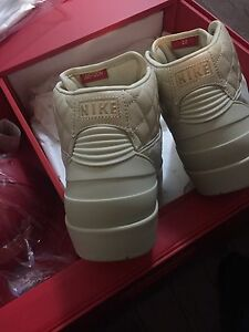 Nike air Jordan Just Don 2 Pack Tan Beach sz 10.5 DS $1100 obo