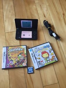 Nintendo DSi, with charger, 3 games (Kirby)