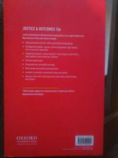 Justice and Outcomes VCE Legal Studies Unit 3 & 4