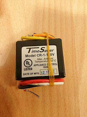 Lvs Controls Cr-1-120v Time Saver Relay Low Voltage Closet Light Control