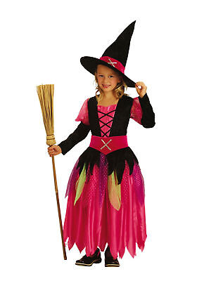 Kinderkostüm superluxe Hexe Pretty witch Halloween - Pretty Witch Kostüm