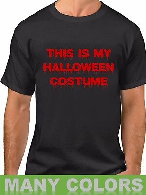 This Is My Halloween Costume T (This Is My Halloween Costume #2 T-Shirt Trick Or Treat Party Spooky Tee)