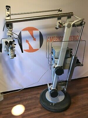 Carl Zeiss Opmi Cs-nc 31 Surgical Microscope System Superlux 300 Xenon Halogen