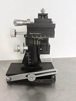 Marzhauser Mm33 Micromanipulator W Tilting Device Left Sided Wpi M3301l