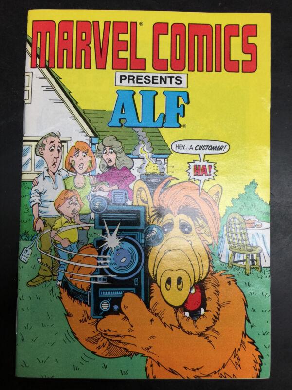 ALF #0 Marvel/Star Comics Very Rare Ashcan Mini Comic Book 1988 (New Old-Stock)