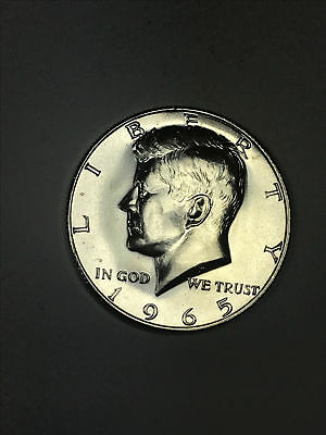 1965 SMS Kennedy 40% Silver Gem Brilliant Uncirculated Half Dollar