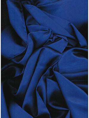 Solid Royal Blue Western Cowboy Silk Wild Rag Bandana Buckaroo Scarf