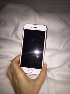 Rose gold iPhone 6s