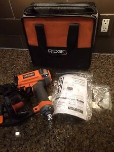 NEW RIDGID COIL ROOFING nailer
