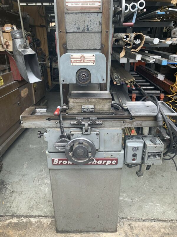 Brown & Sharpe 510 Micromaster Hand Operated Surface Grinder