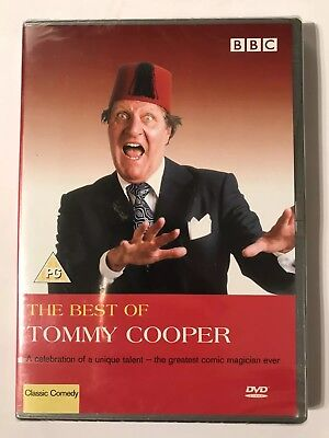 The Best Of Tommy Cooper R2 DVD New For Him Xmas Gift Idea Stocking Filler ()