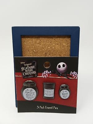 Loungefly The Nightmare Before Christmas Sally's Jars Enamel Pin Set 130234