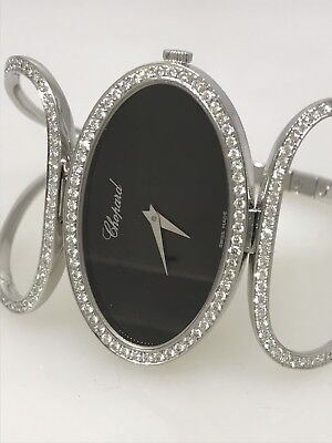 CHOPARD CLASSIQUE 18K WHITE GOLD, DIAMOND LADIES WATCH NEW $35,140 RETAIL!