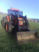 2007 KUBOTA 82 HP CAB 4WD  FROUNT END LOADER  HYD SHUTTLE Ensay East Gippsland Preview