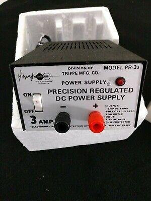 Tripp Lite Precision Regulated Power Supply 3 Amp Model Pr-3a