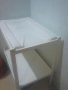 MOVING - HAS TO GO! White Change Table With Change Mat Trinity Beach Cairns City Preview