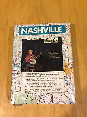 The Stars & Hits of Bluegrass VARIETY of ARTISTS Sealed - 8 Track Tape *