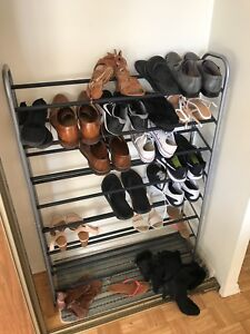 Almost new shoe rack