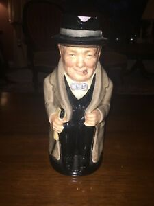 Winston Churchill Mug Royal Doulton