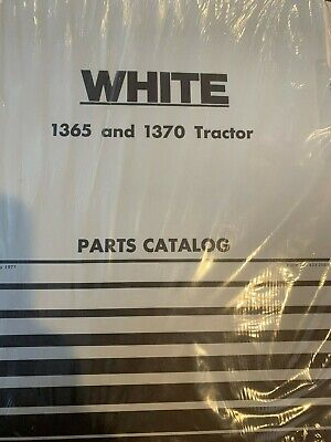 Wfe White 1365 And 1370 Tractor Parts Catalog Catlogue