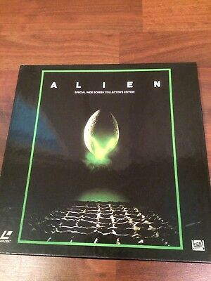 ALIEN Laserdisc 3-Disc Box Set CAV Ridley Scott H.R. Giger Tom Skerritt