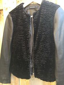 Zara leather jacket brand new size XS