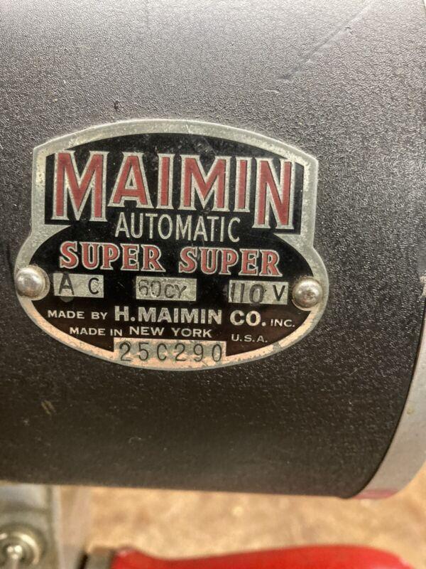 "MAIMIN Auto XX 6"" FABRIC - FOAM CUTTER - EXCELLENT SHAPE 110 VOLTS - WORKS GREAT"