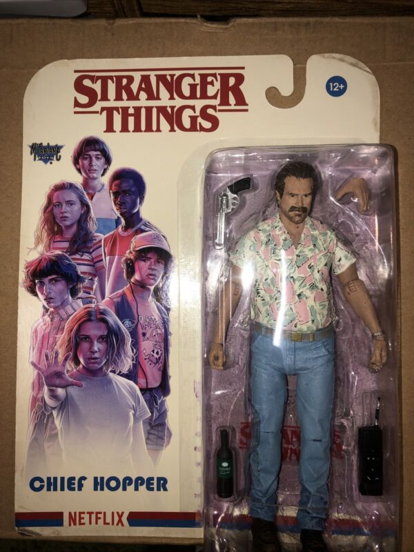 Stranger Things Chief Hopper Date Night 7-Inch Action Figure New McFarlane Toys